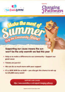 Flyer for Essex Lottery